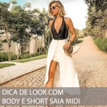 DICA DE LOOK COM BODY PARA O FINAL DE SEMANA